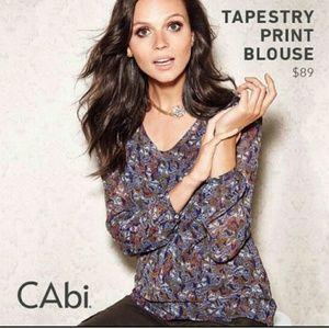 Cabi Tapestry Print Blouse